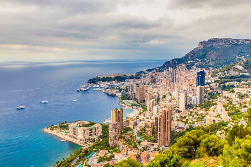 Opinião cênico Monte Carlo-Monte Carlo, Mônaco fotos de stock