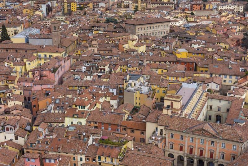Opinião da arquitetura da cidade do torri devido fotografia de stock royalty free