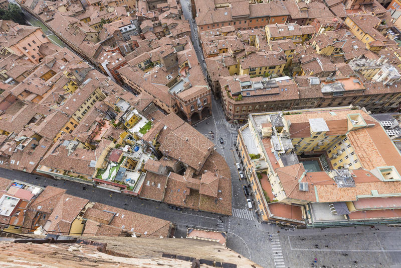 Opinião da arquitetura da cidade do torri devido fotos de stock