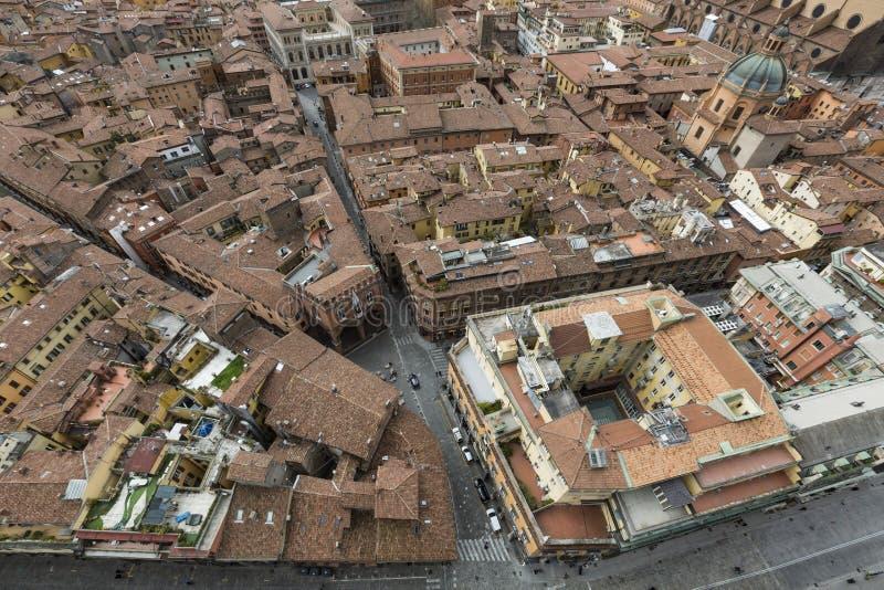 Opinião da arquitetura da cidade do torri devido imagem de stock