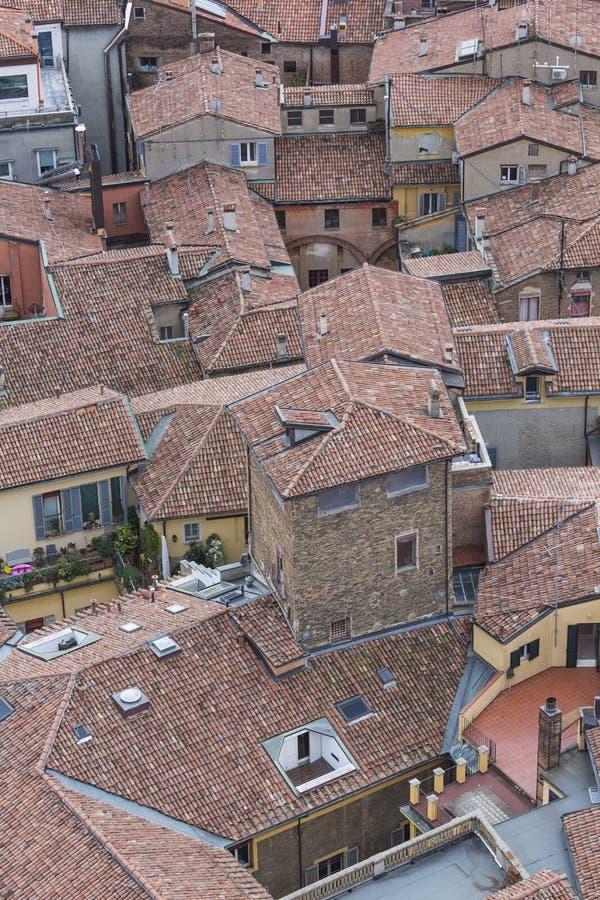 Opinião da arquitetura da cidade do torri devido imagens de stock royalty free