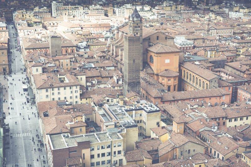 Opinião da arquitetura da cidade do torri devido imagens de stock