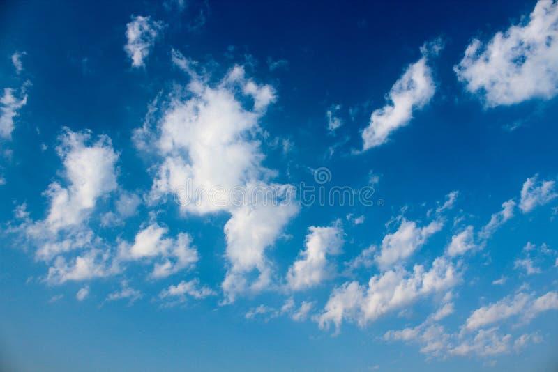 A opinião da arte da nuvem foto de stock