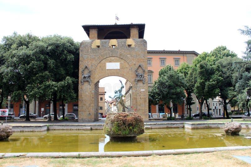 Opinião da cidade de Florença, Itália foto de stock royalty free
