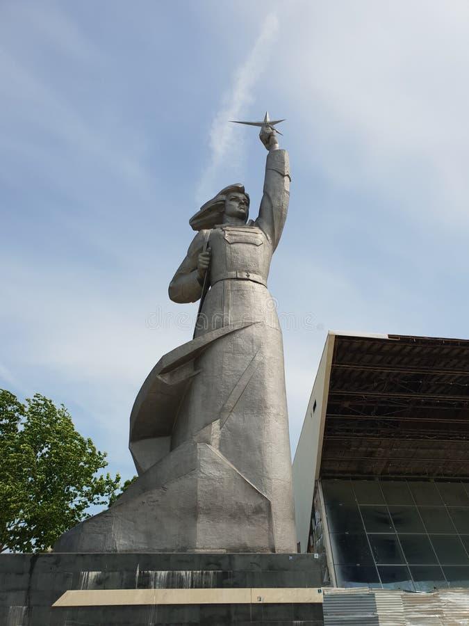 Opinião da cidade de Krasnodar, Rússia foto de stock