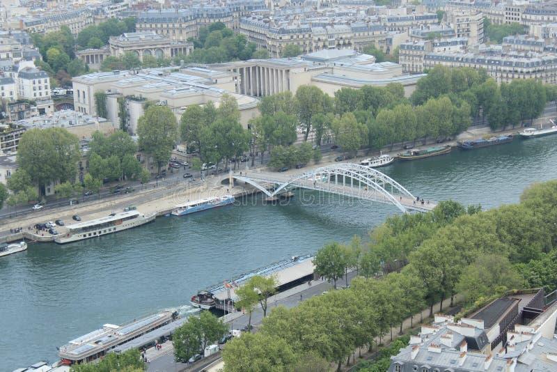 Opinião da cidade de Paris fotos de stock royalty free