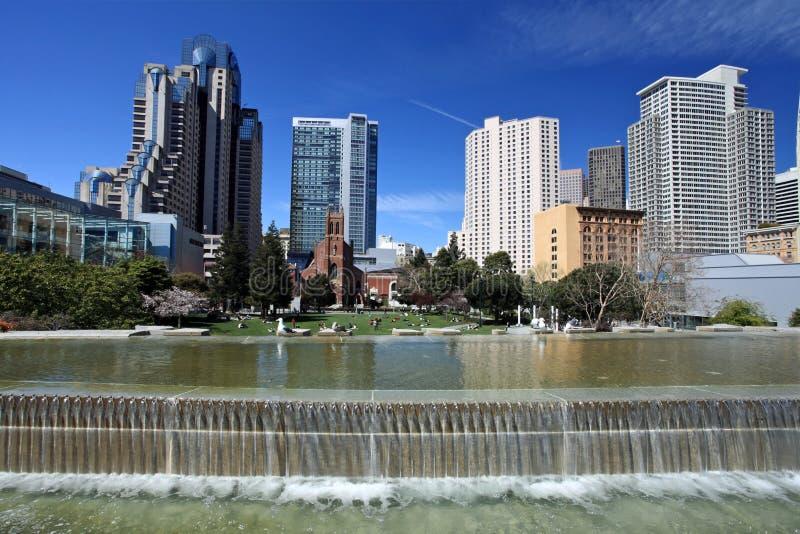 Opinião da cidade de San Francisco fotos de stock royalty free