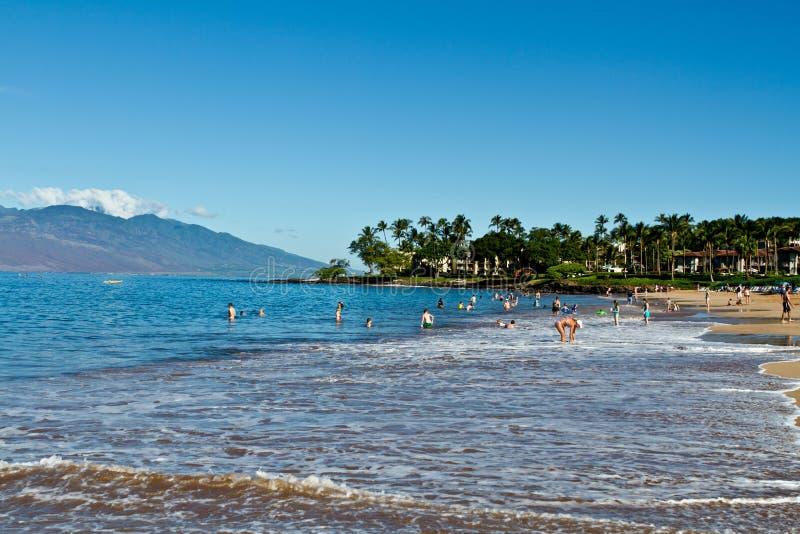Opinião da costa de Maui fotografia de stock royalty free