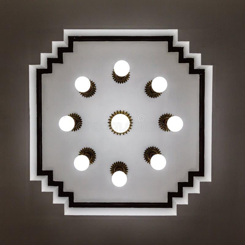 Opinião da formiga da lâmpada imagens de stock royalty free