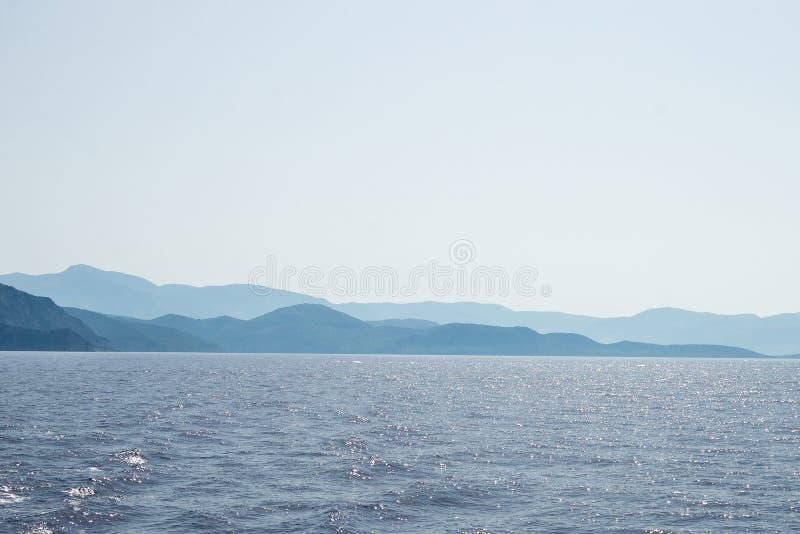 A opinião da ilha foto de stock