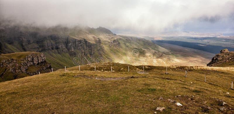 Opinião da paisagem da montanha fotos de stock
