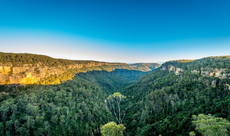 Opinião da paisagem de Austrália imagens de stock