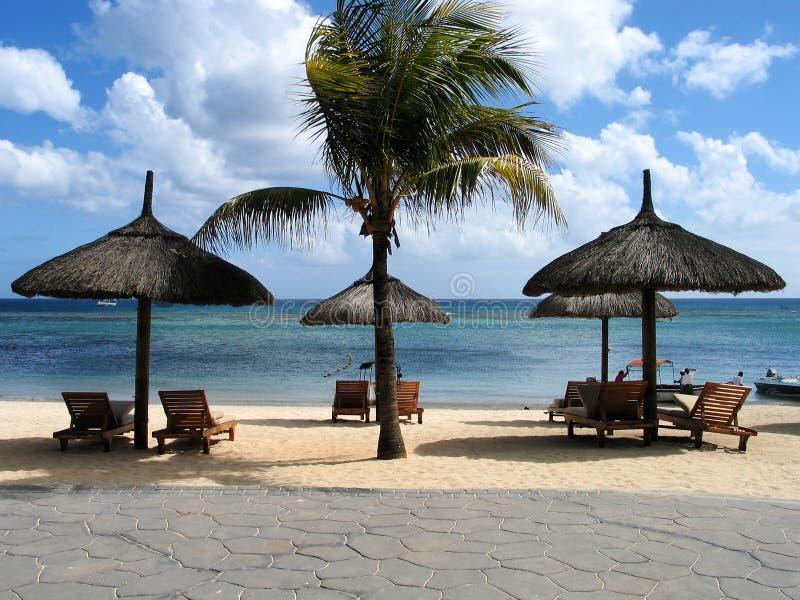 Opinião da praia fotos de stock