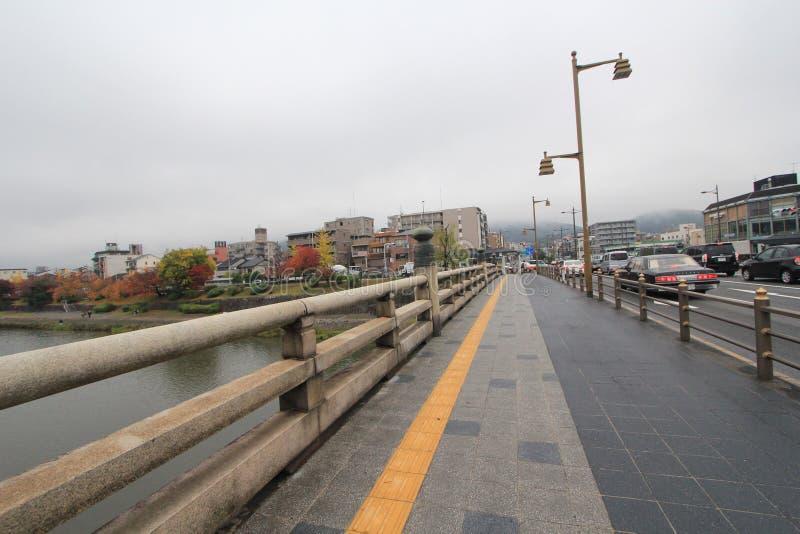Opinião da rua de Osaka em Japão imagem de stock royalty free