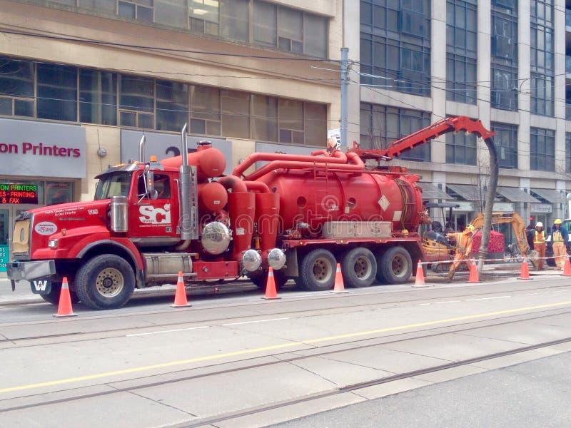 Opinião da rua de Toronto foto de stock royalty free