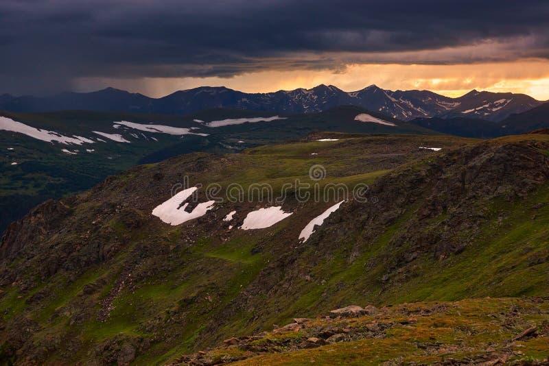 Opinião da tundra imagens de stock royalty free