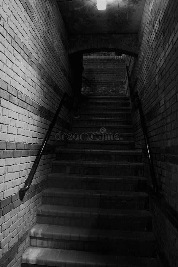 Opinião das escadas do canal da caixa postal de Birmingham imagem de stock royalty free