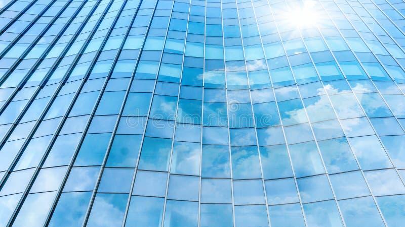 Opinião de ângulo da perspectiva e do lado de baixo ao fundo textured foto de stock royalty free