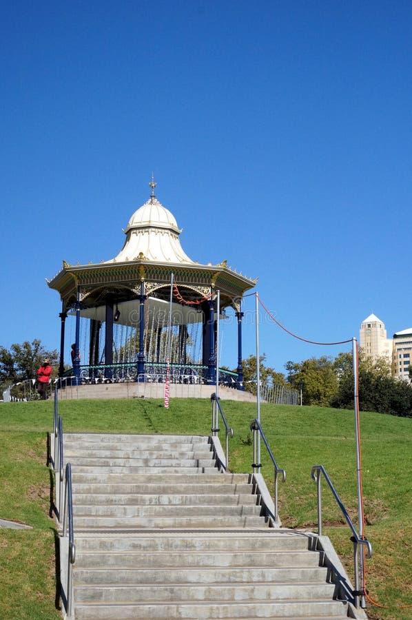 Opinião de Adelaide Elder Park fotos de stock royalty free