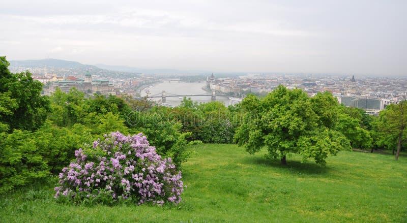 Opinião de Budapest fotos de stock
