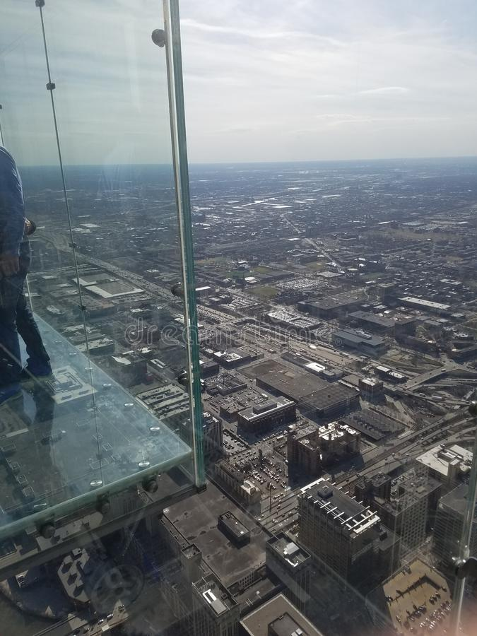 Opinião de Chicago imagem de stock