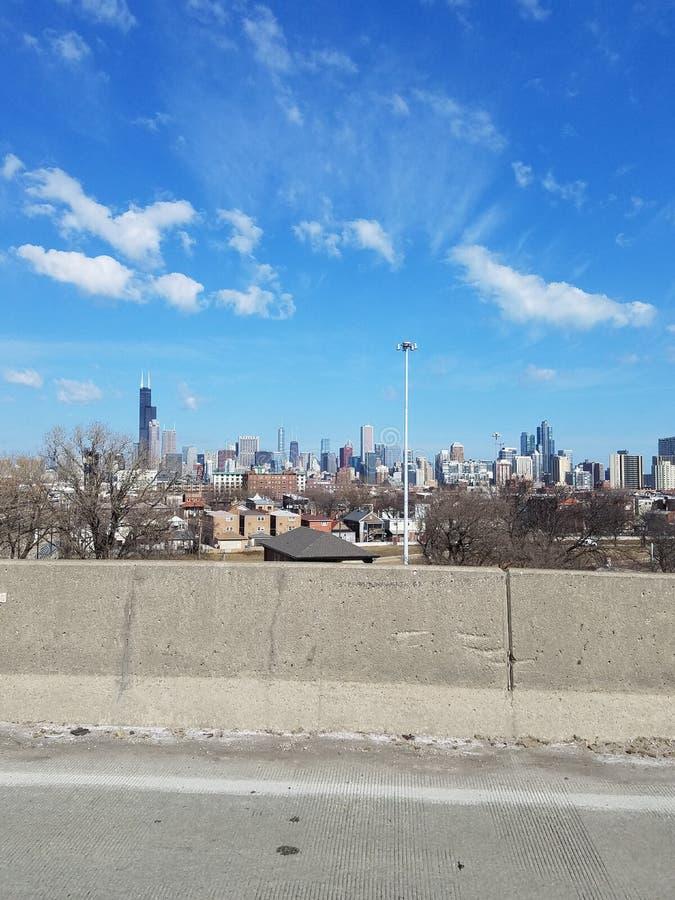 Opinião de Chicago imagens de stock royalty free