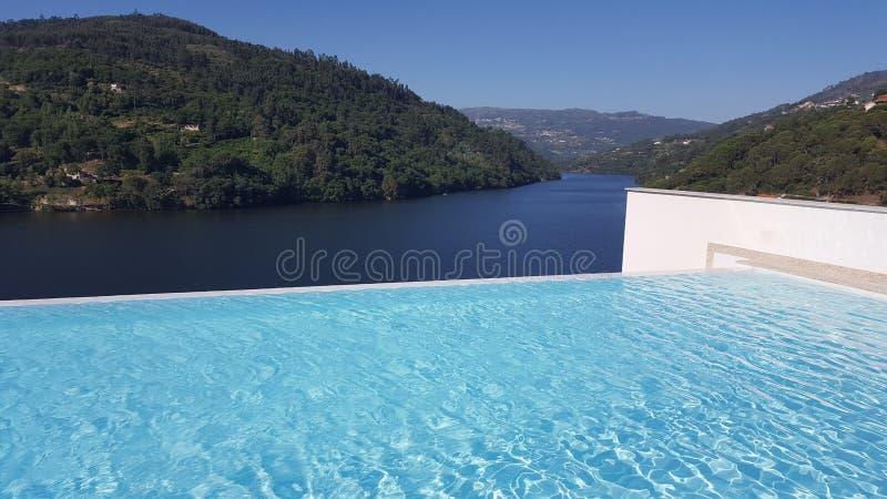 Opinião de Douro fotos de stock royalty free