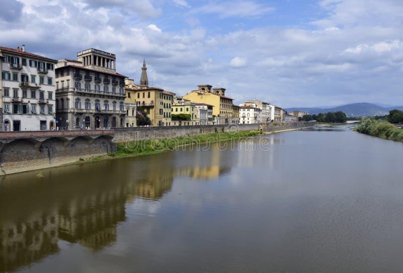 Opinião de Florença fotografia de stock