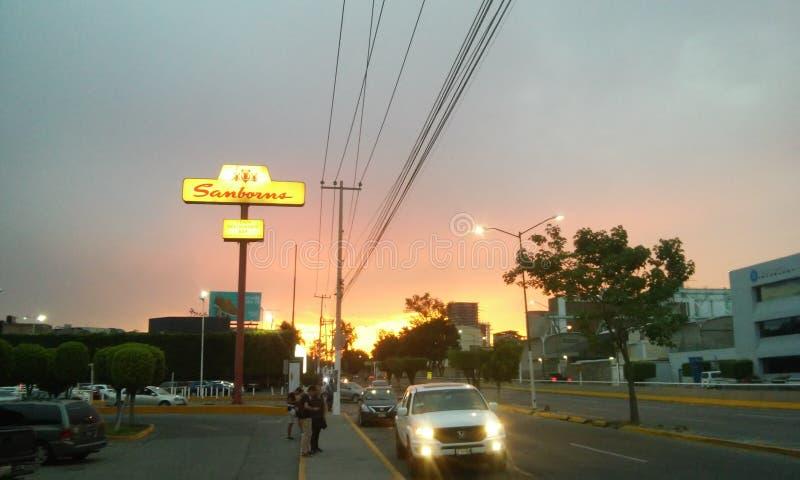 Opinião de Guadalajara imagem de stock