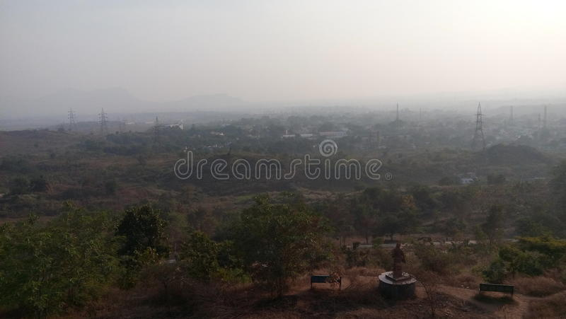 Opinião de Jamshedpur imagens de stock royalty free