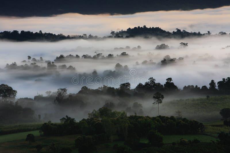 Opinião de Khao Kho fotos de stock royalty free
