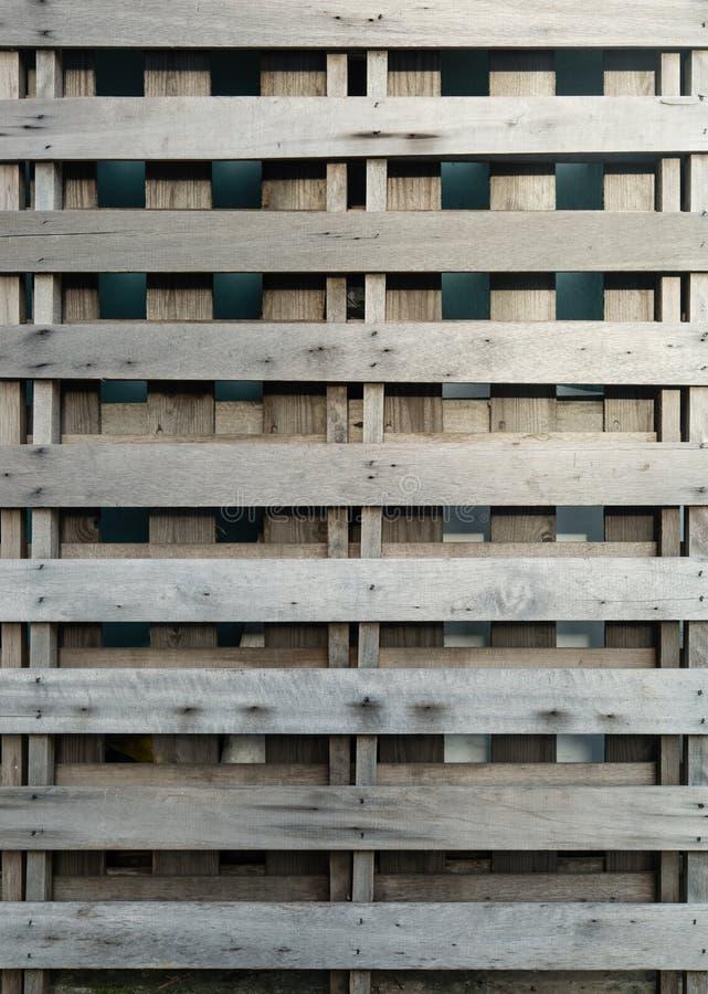 Opinião de madeira cinzenta do close up da parede da barreira fotografia de stock