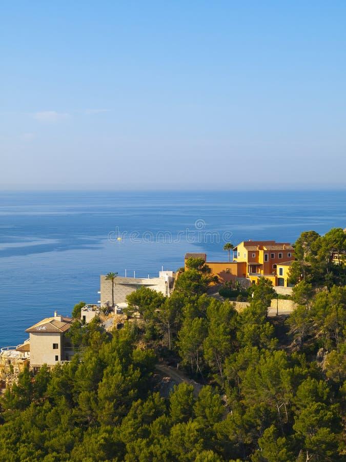 Opinião de Mallorca foto de stock royalty free