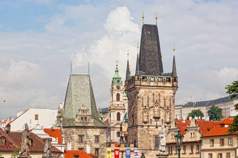 Opinião de Mesto do olhar fixo (cidade velha) imagem de stock