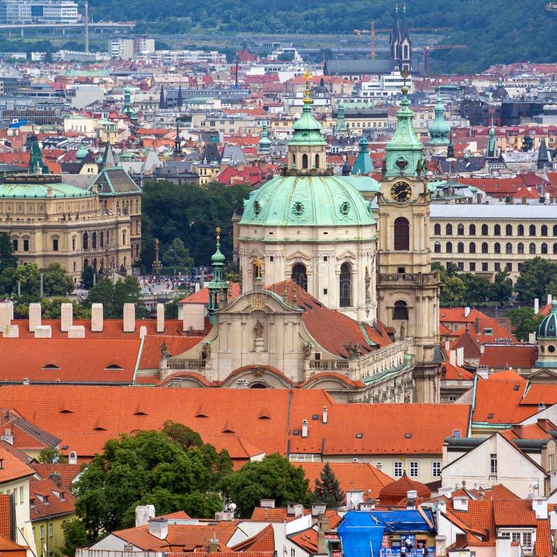 Opinião de Mesto do olhar fixo (cidade velha) foto de stock