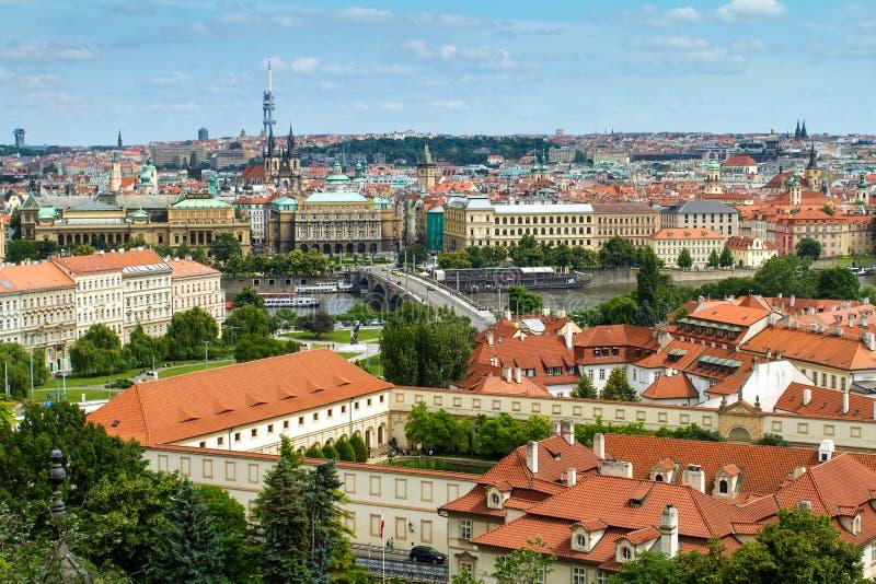 Opinião de Mesto do olhar fixo (cidade velha) imagem de stock royalty free