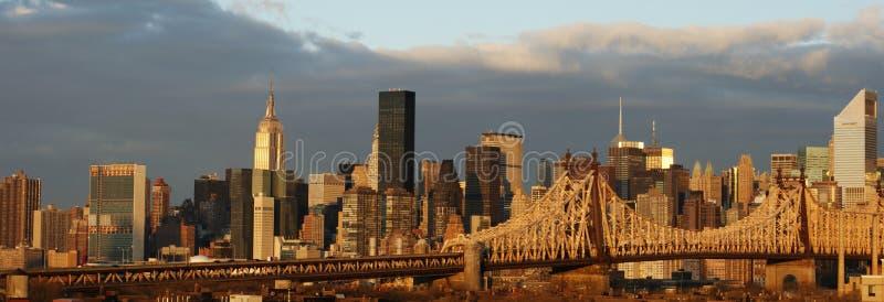 Opinião de New York imagem de stock