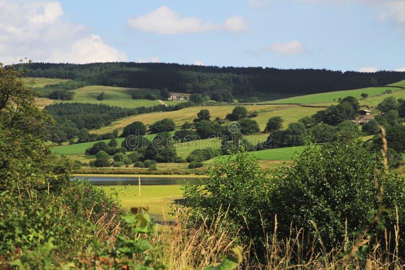 Opinião de North Yorkshire imagens de stock royalty free