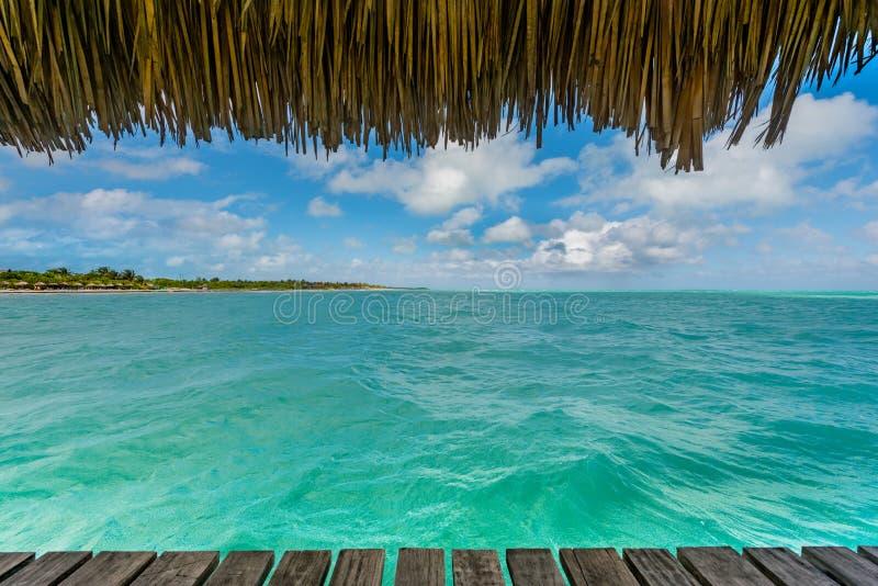 Opinião de oceano foto de stock