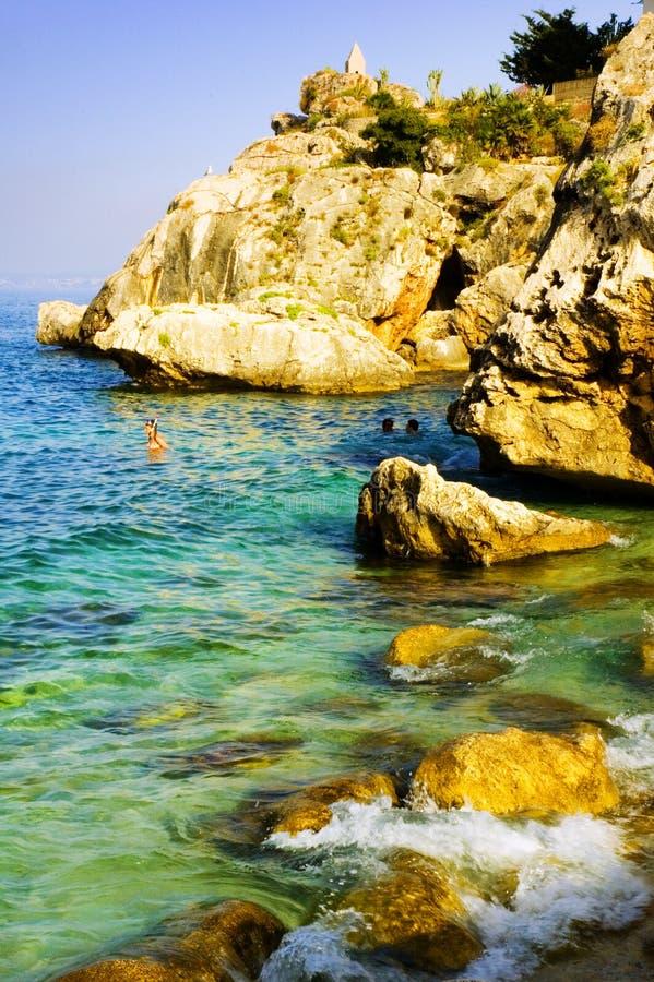 Opinião de oceano bonita imagens de stock royalty free