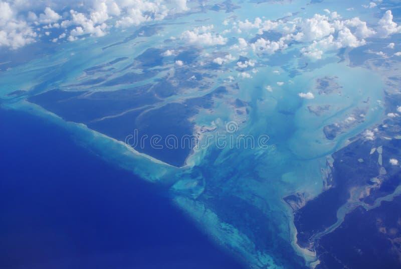 Opinião de oceano de acima fotos de stock
