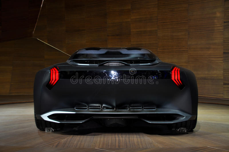 Opinião de Peugeot imagens de stock royalty free