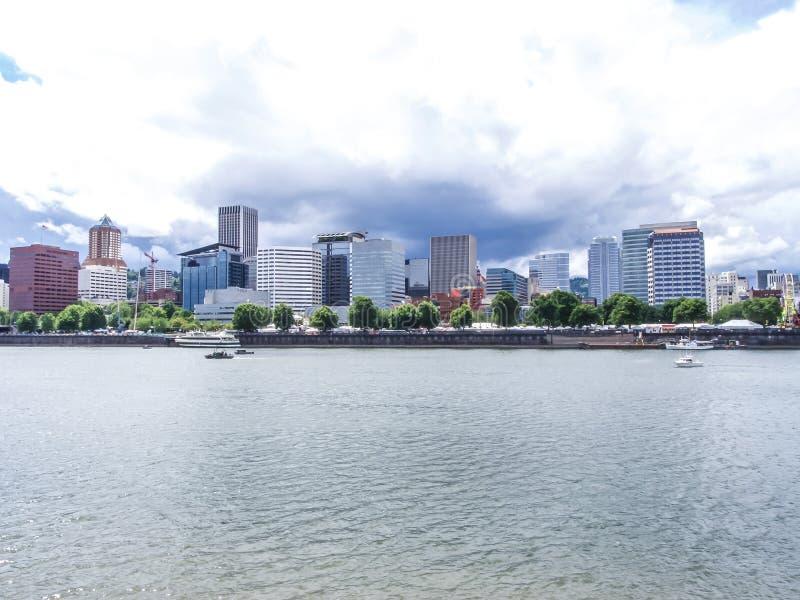 Opinião de Portland imagem de stock royalty free