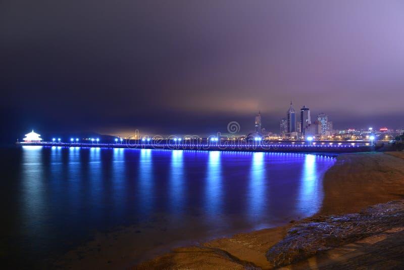 Opinião de Qingdao foto de stock