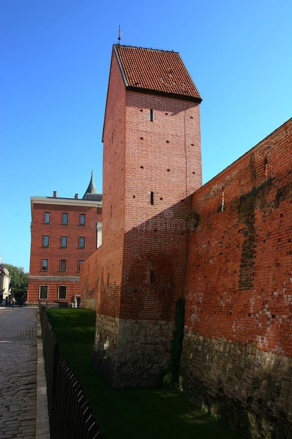 Opinião de Riga fotografia de stock royalty free