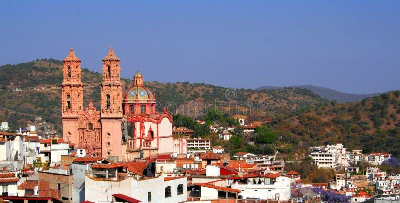 Opinião de Taxco fotografia de stock