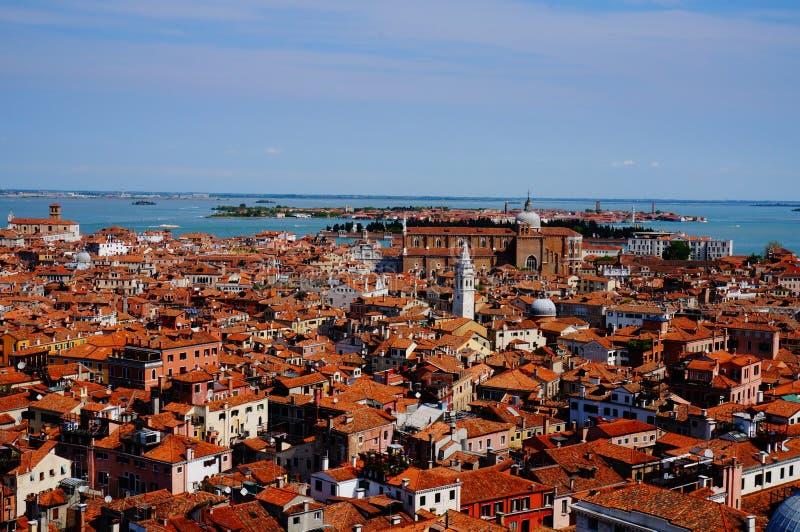Opinião de Veneza de cima de imagem de stock royalty free