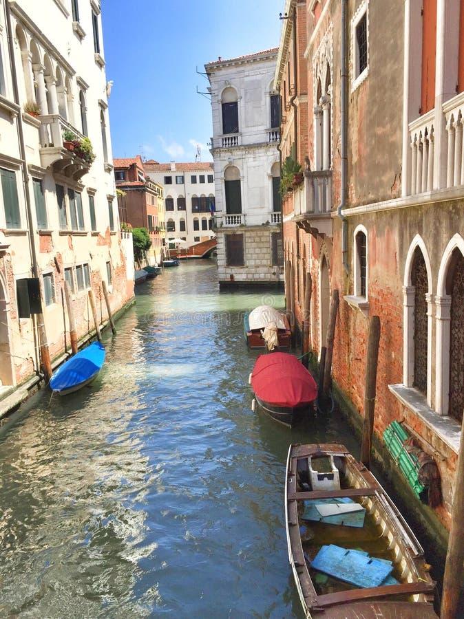 Opinião de Veneza em meus olhos fotos de stock royalty free