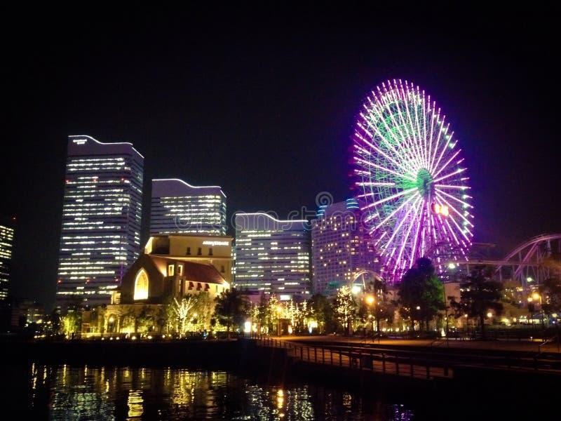 Opinião de Yokohama fotografia de stock