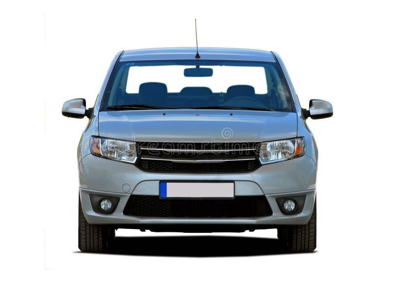 Opinião dianteira do automóvel de passageiros imagens de stock